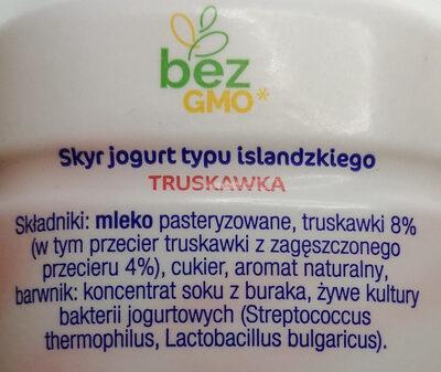 Skyr jogurt pitny - Składniki - pl