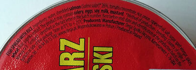 Paprykarz Szczeciński - Nutrition facts - en