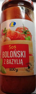 Sos Boloński z bazylią - Product - pl