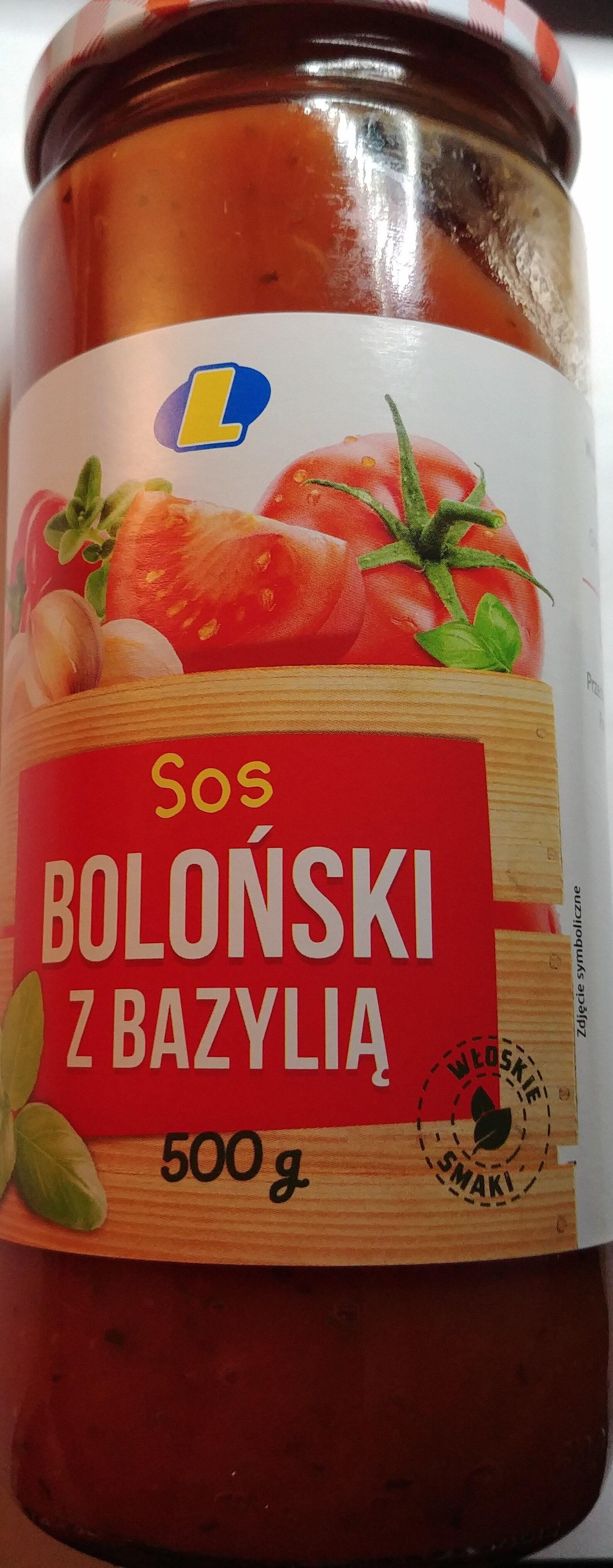 Sos Boloński z bazylią - Produkt - pl