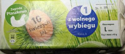 10 świeżych jaj L - Produkt