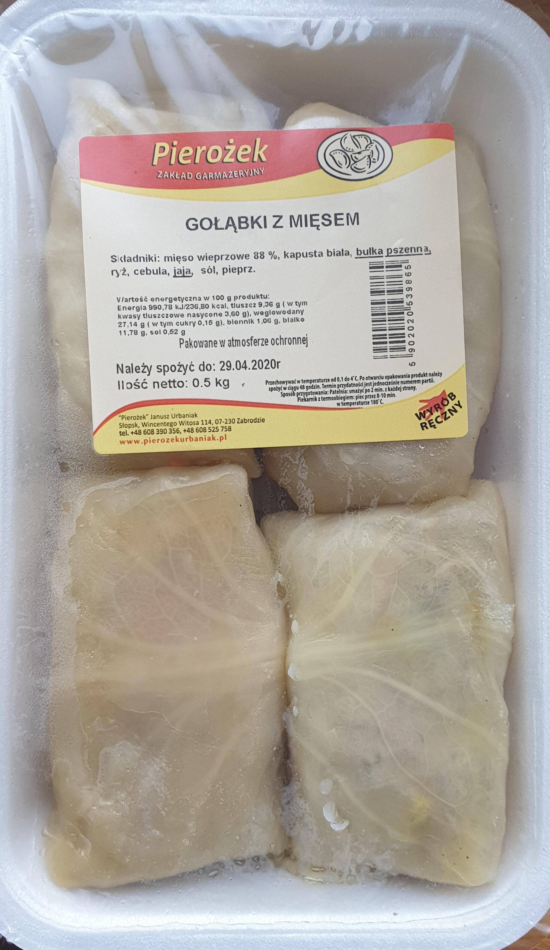 Gołąbki z mięsem - Produkt - pl