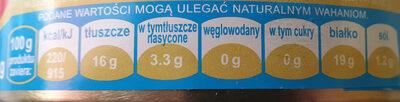 Sardynka w sosie własnym z dodatkiem oleju - Nutrition facts - pl