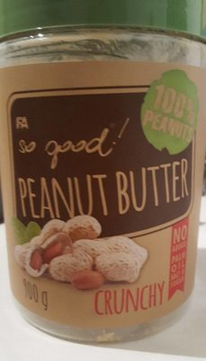 So Good Peanut Butter Crunchy - Product