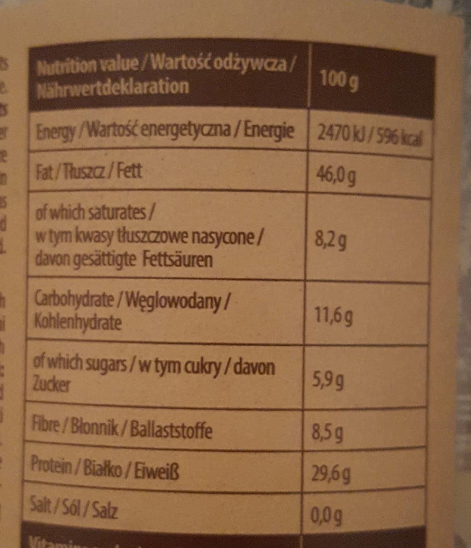 So Good Peanut Butter Crunchy - Informations nutritionnelles