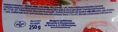 Maślanka truskawkowa - Składniki - pl
