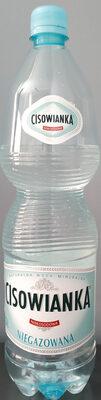 woda mineralna niegazowana - Produkt - pl