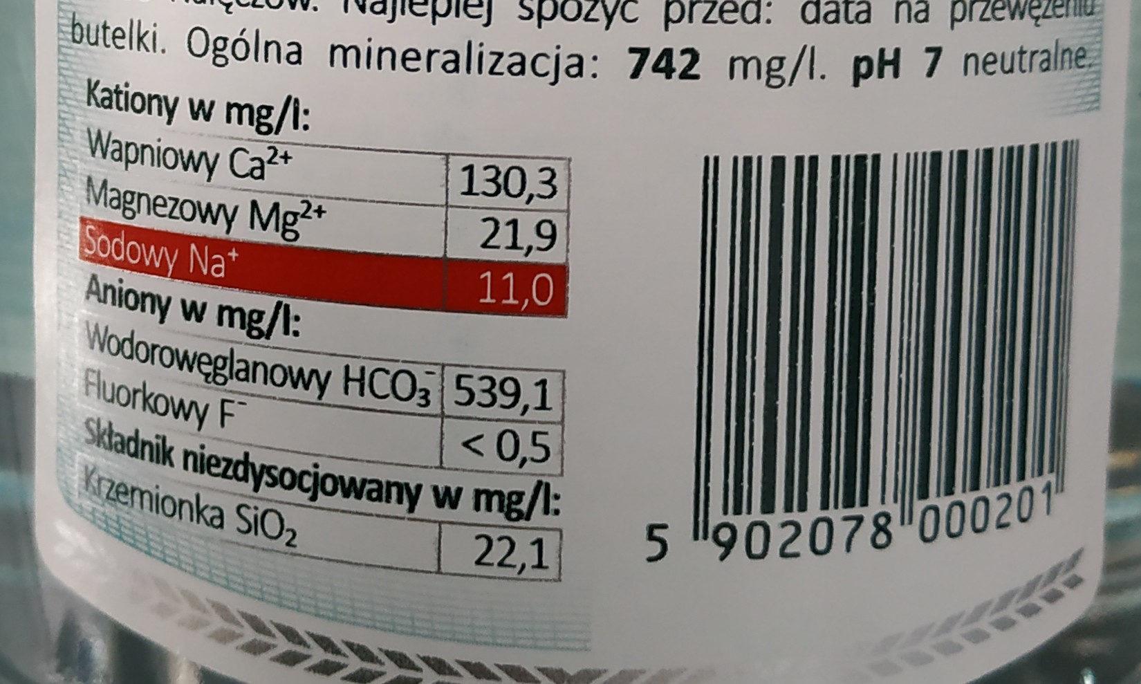 Water - Ingrediënten - en