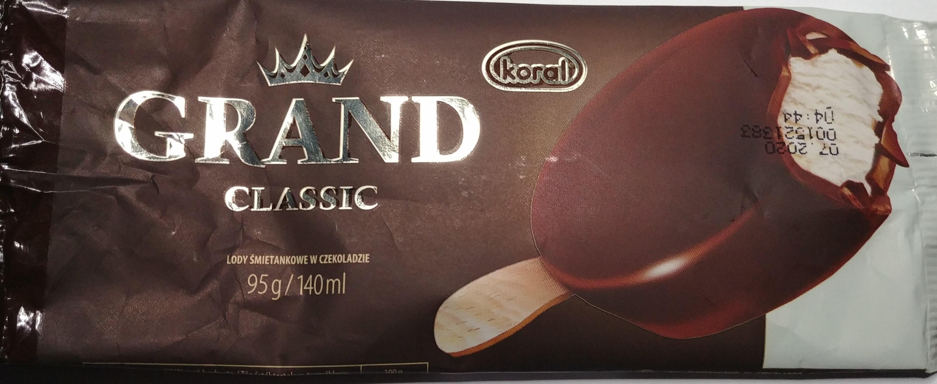 Lody śmietankowe w czekoladzie - Produkt