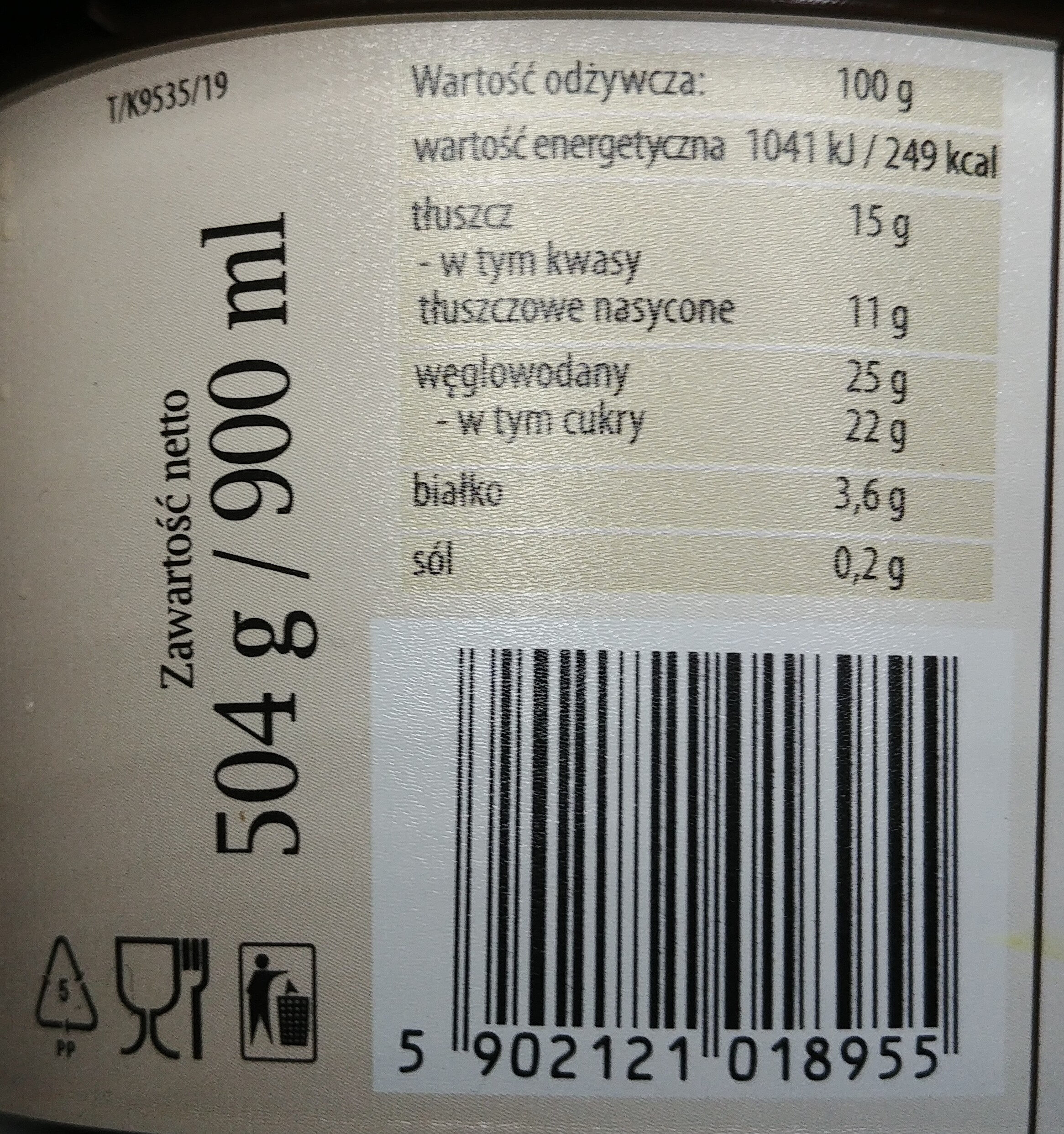 Lody śmietankowe - Wartości odżywcze - pl