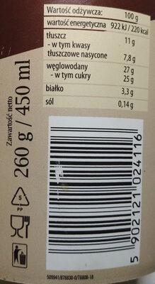 Lody czekoladowe z wiśniami - Wartości odżywcze - pl