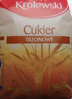 Cukier trzcinowy nierafinowany - Produkt
