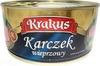 Karczek wieprzowy - Produkt