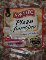 Pizza z szynką wieprzową i pieczarkami - Produkt - pl