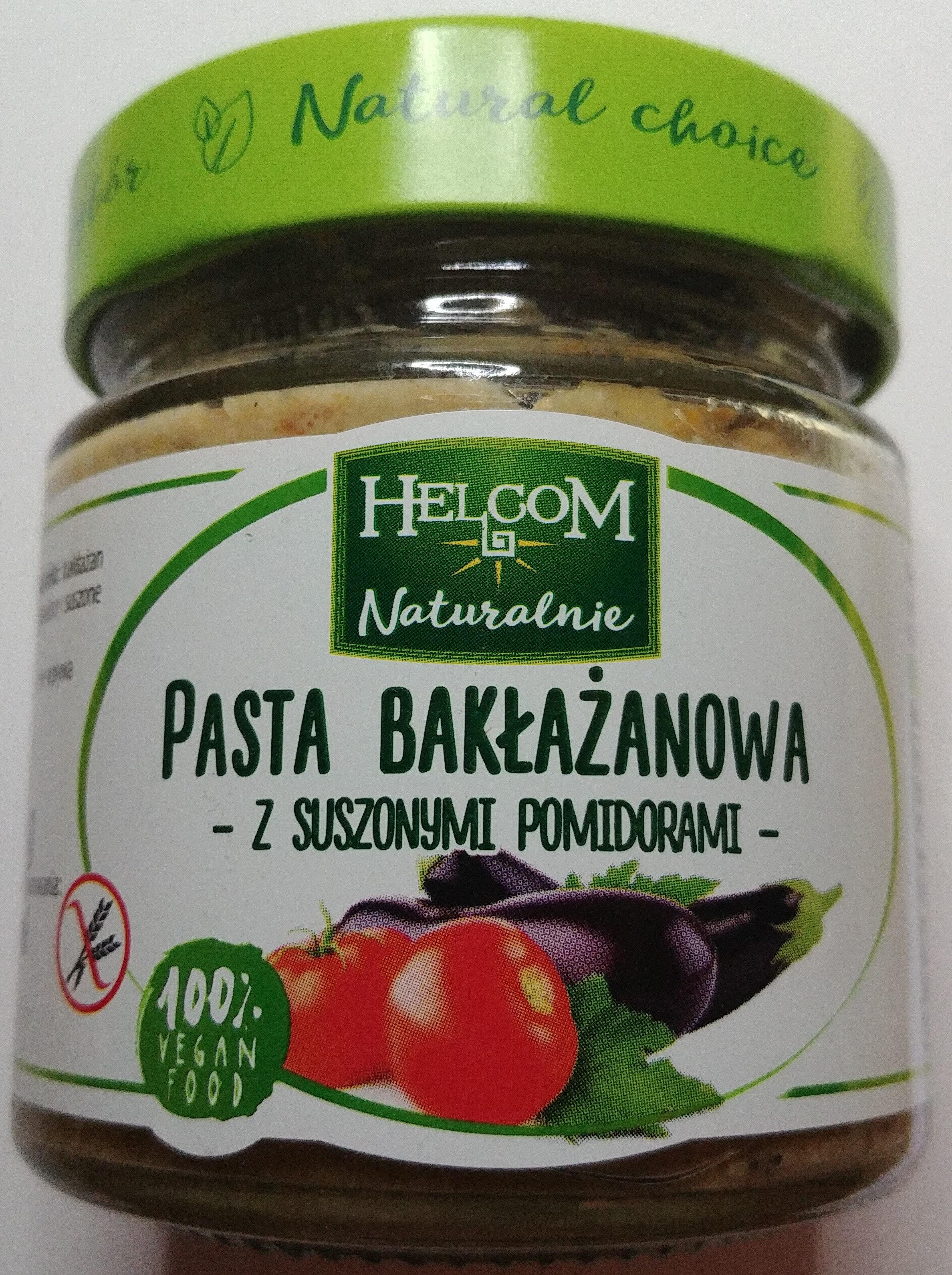 Pasta bakłażanowa z suszonymi pomidorami - Produkt - pl