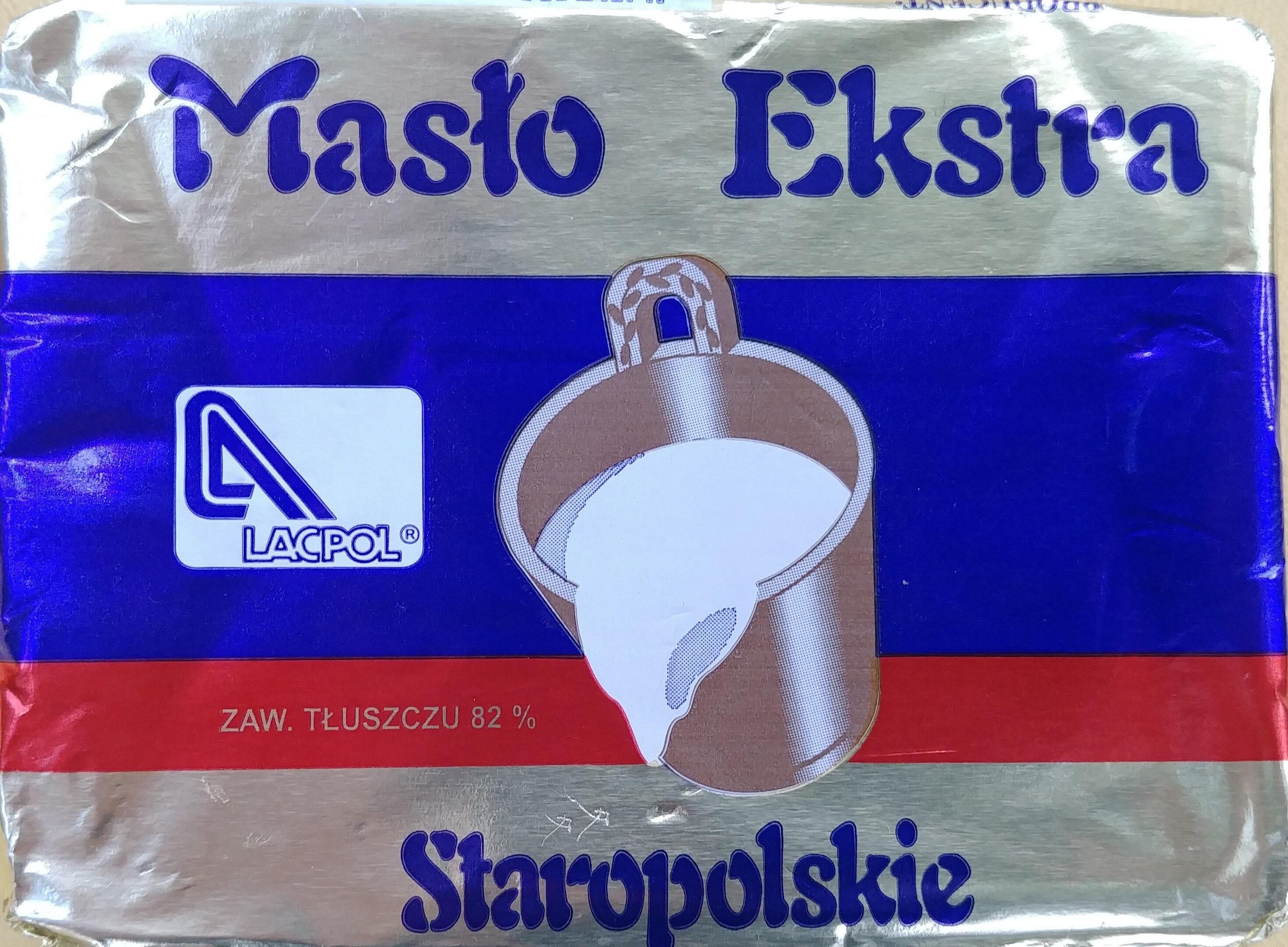 Masło ekstra Staropolskie. - Produkt - pl