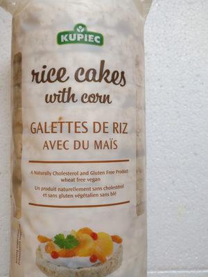 Galette de riz avec du maïs - Product - fr