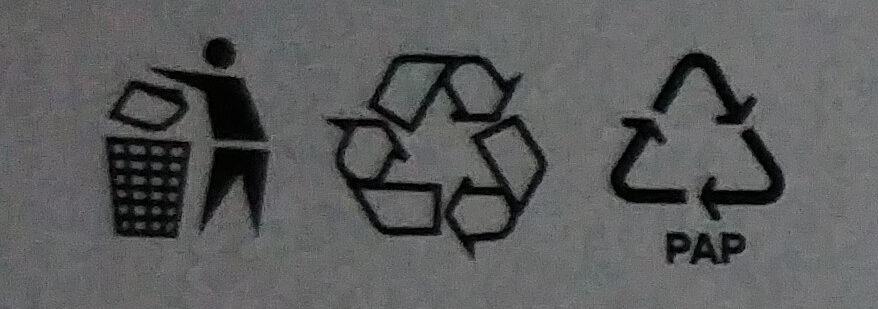 Kasza jęczmienna wiejska - Recycling instructions and/or packaging information - pl