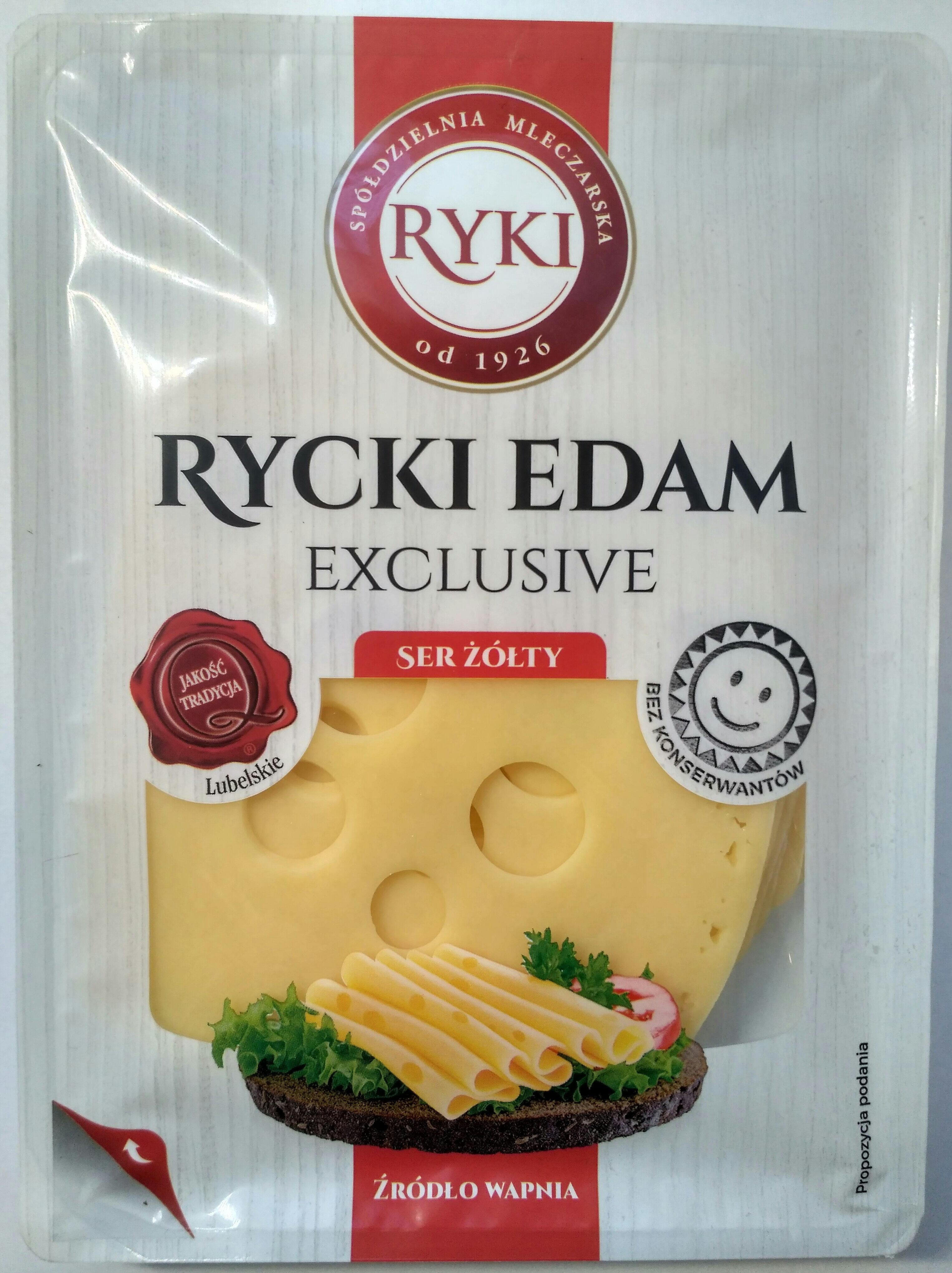 Rycki Edam - Produkt - pl