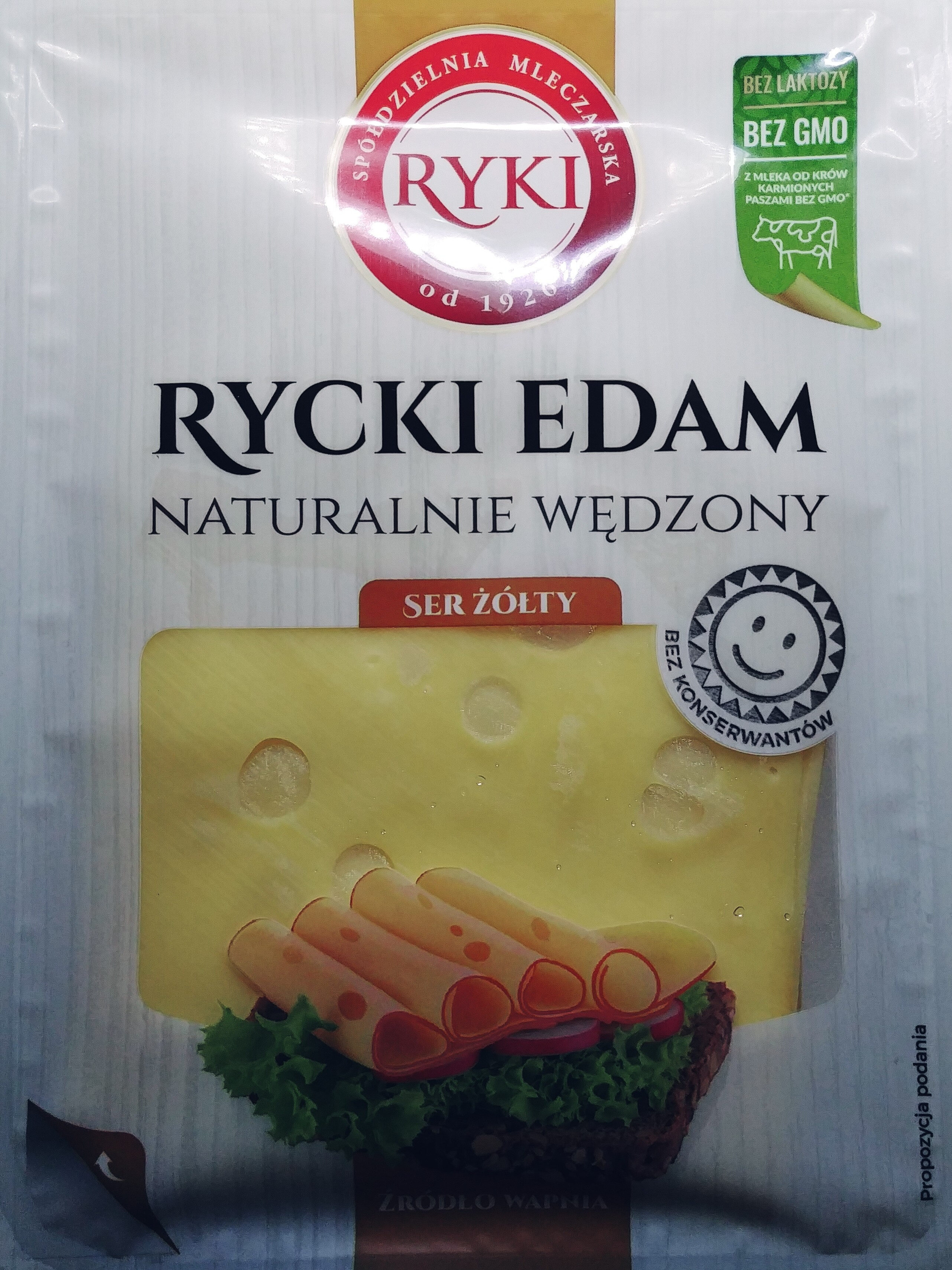 Ser Rycki Edam wędzony - Product