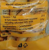Krakersy mix solony - Wartości odżywcze - pl