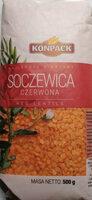 Soczewica czerwona - Produkt