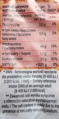 Soczewica czerwona - Wartości odżywcze
