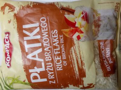 Płatki z ryżu brązowego - Produkt - pl