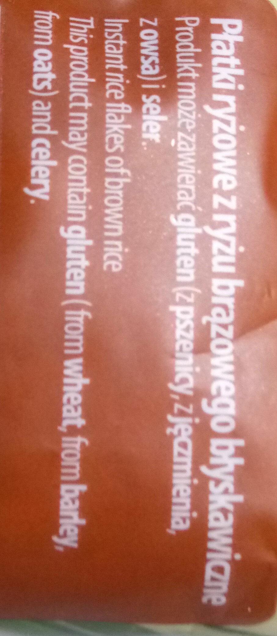 Płatki z ryżu brązowego - Składniki - pl