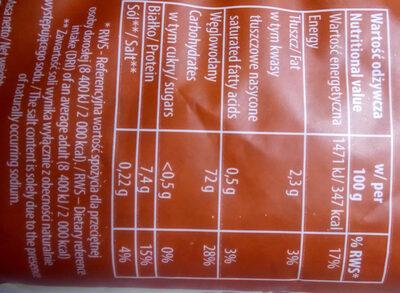 Płatki z ryżu brązowego - Wartości odżywcze - pl