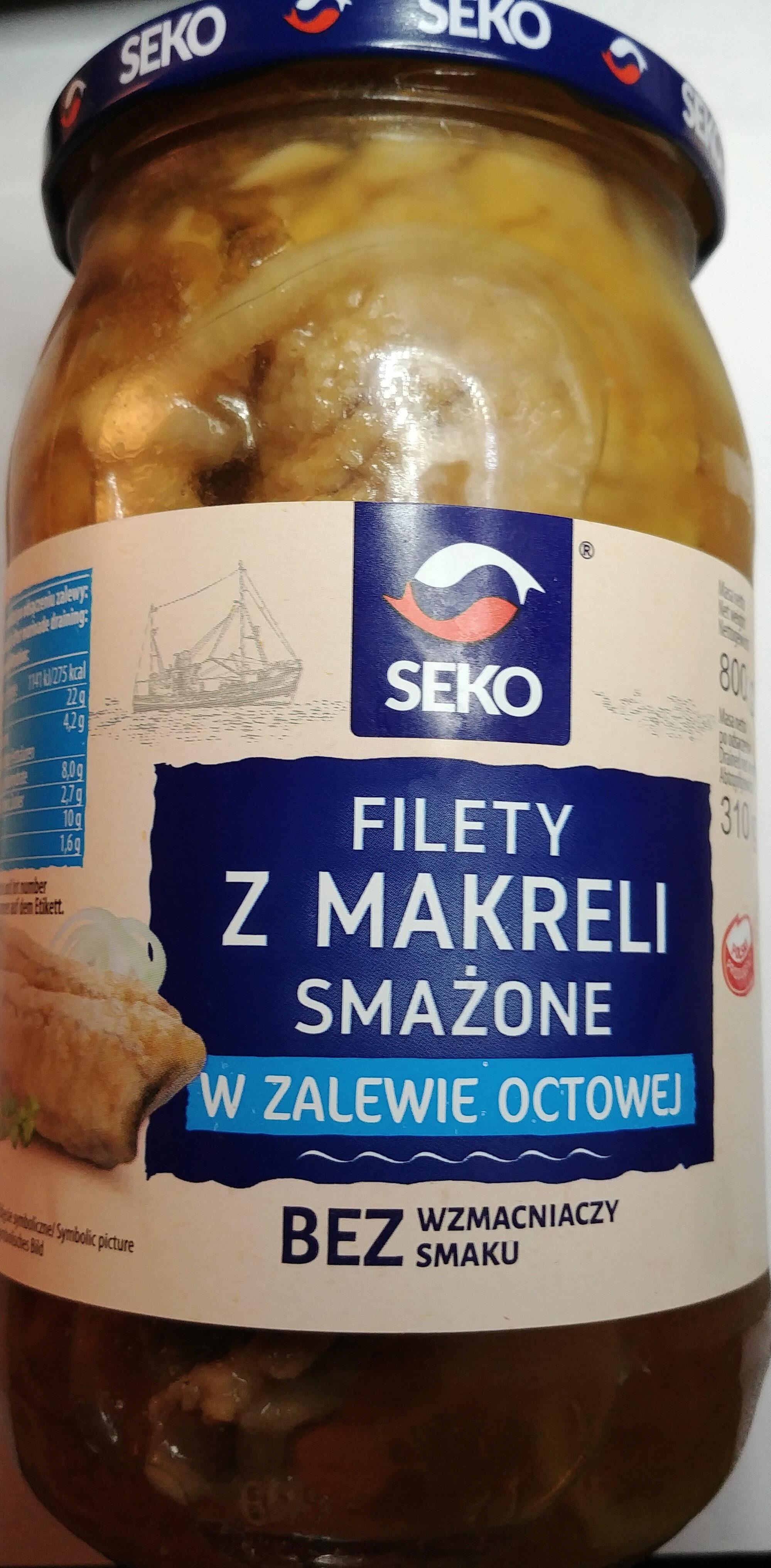 Filety z makreli smażone w zalewie octowej - Product