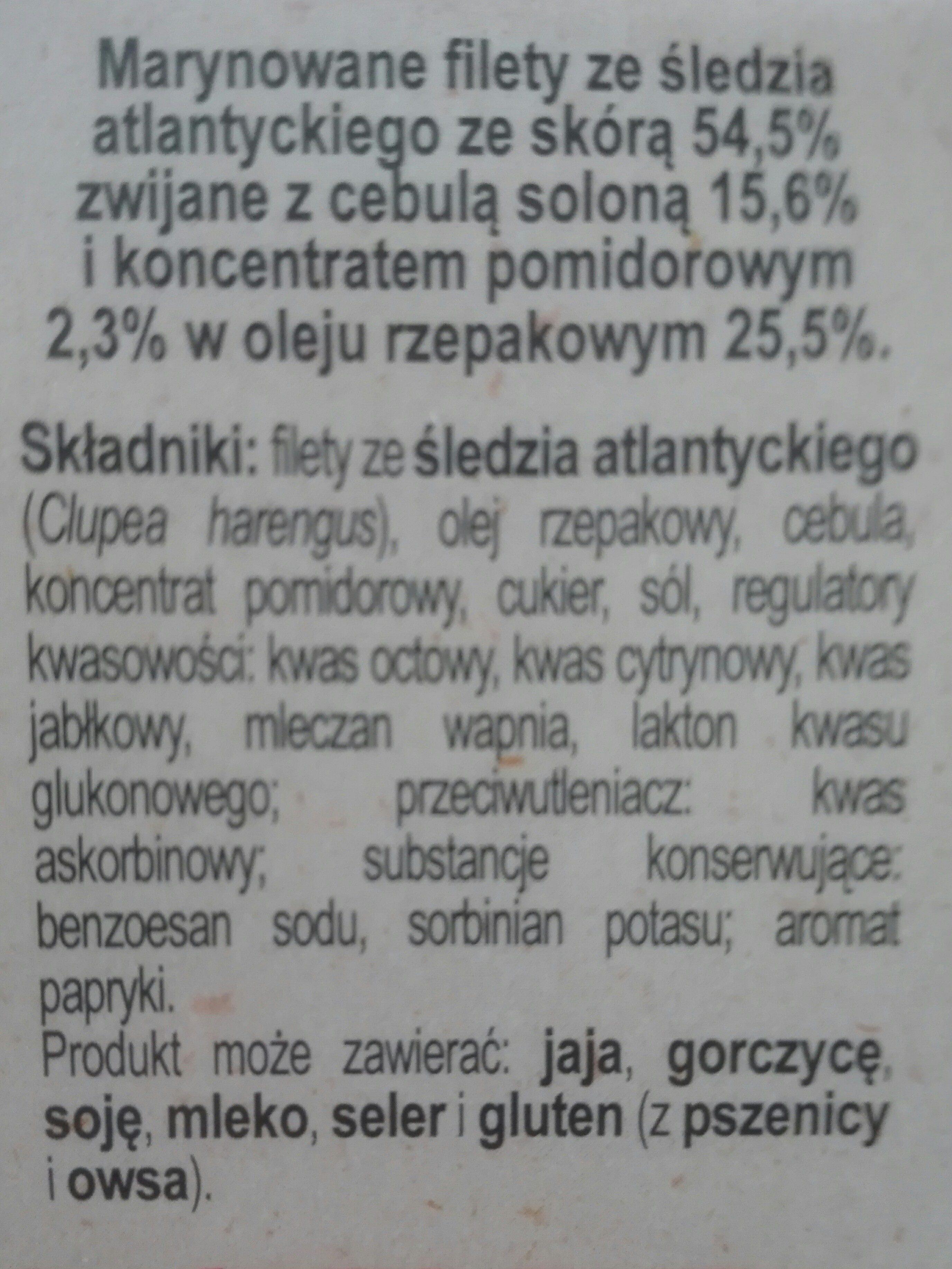 koreczki śledziowe po kaszubsku - Składniki - pl