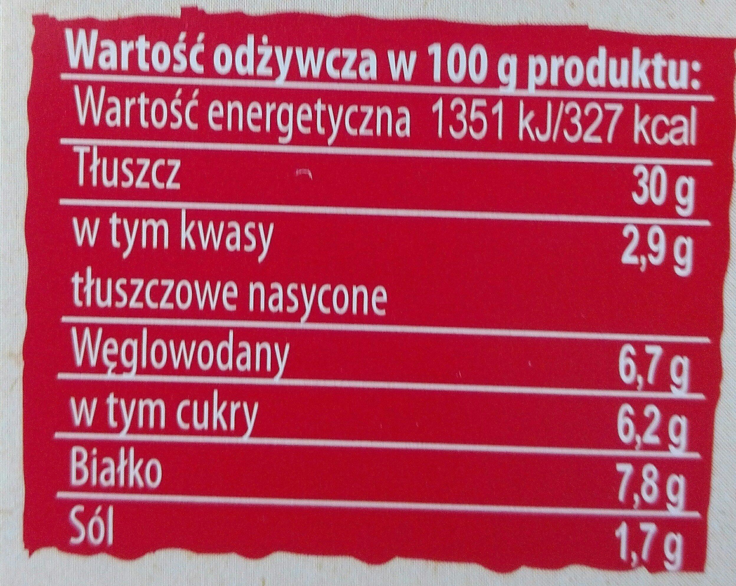 koreczki śledziowe po kaszubsku - Wartości odżywcze - pl