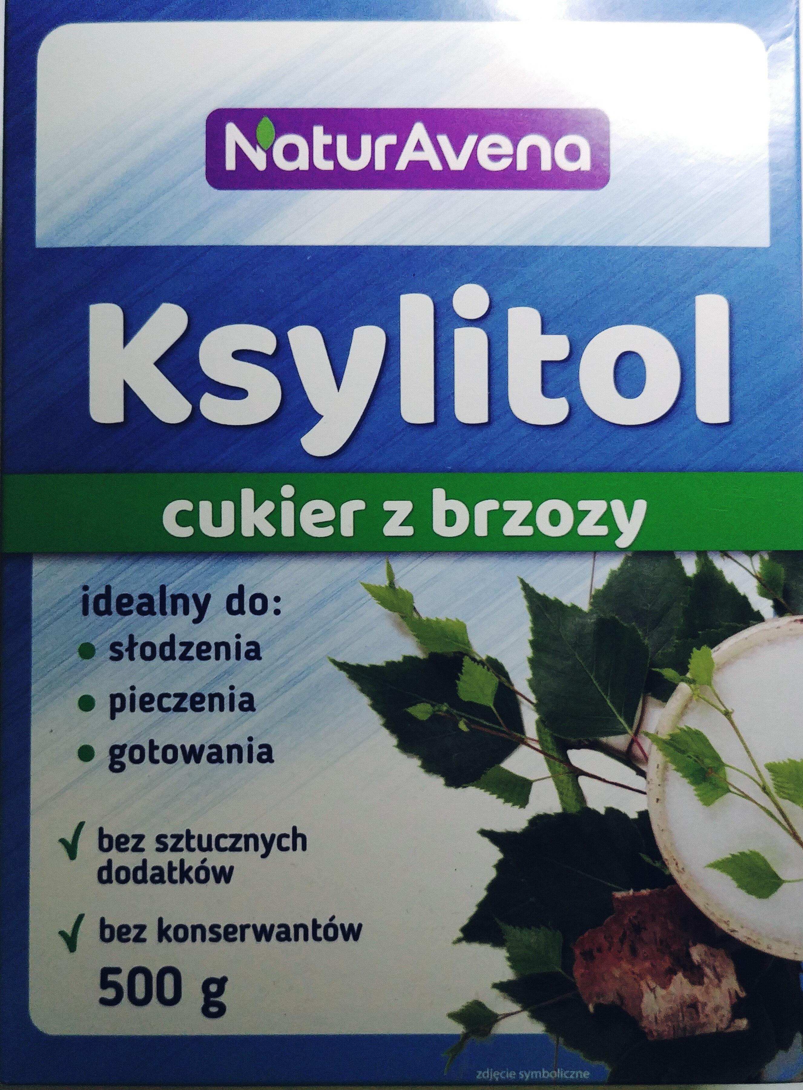 Ksylitol cukier z brzozy - Produkt - pl