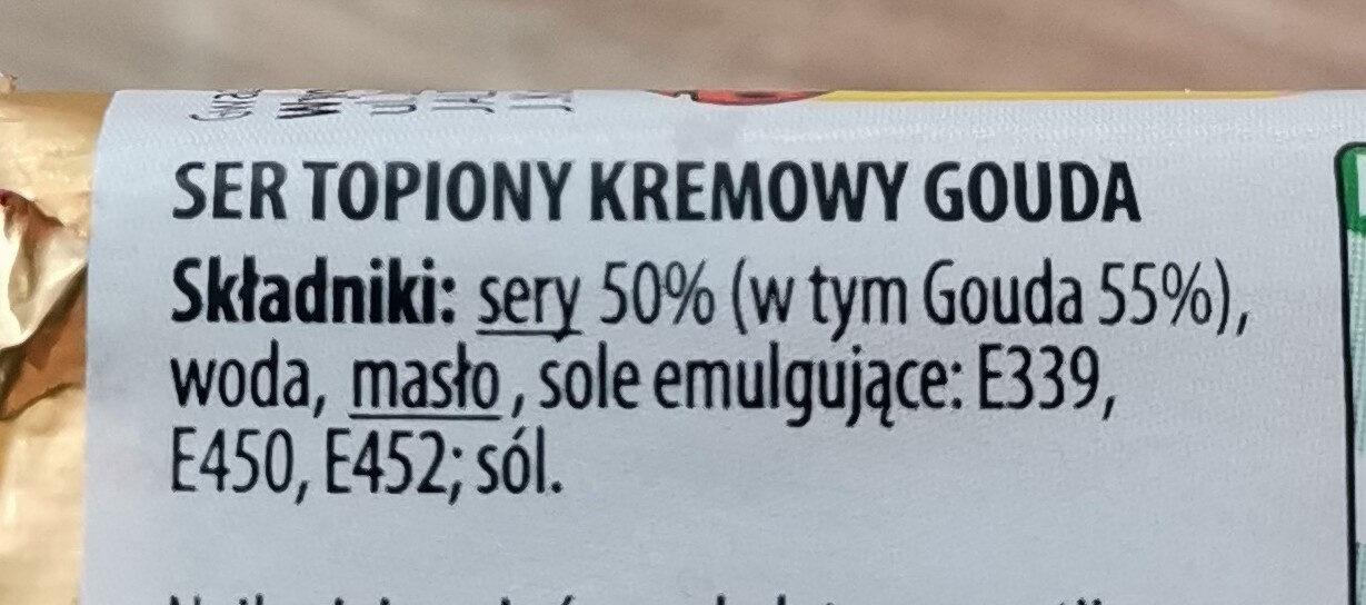 ser topiony - Ingrédients - pl
