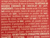 Cookies aux Pépites de Chocolat (avec de la Margarine) - Ingredienti - fr