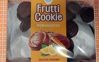 Ciasteczka z nadzieniem pomarańczowym w czekoladzie deserowej. - Produkt - pl