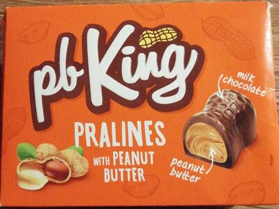 Pralines with peanut butter - Product