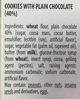 Brownie cookies - Ingrédients - en