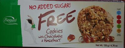 Kruche ciasteczka z orzechami bez dodatku cukru - Produkt