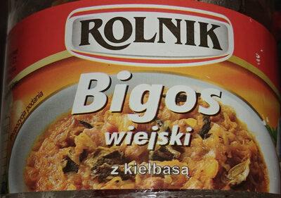 Bigos wiejski z kiełbasą - Produkt
