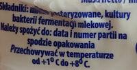 Twaróg półtłusty - Ingrédients - pl
