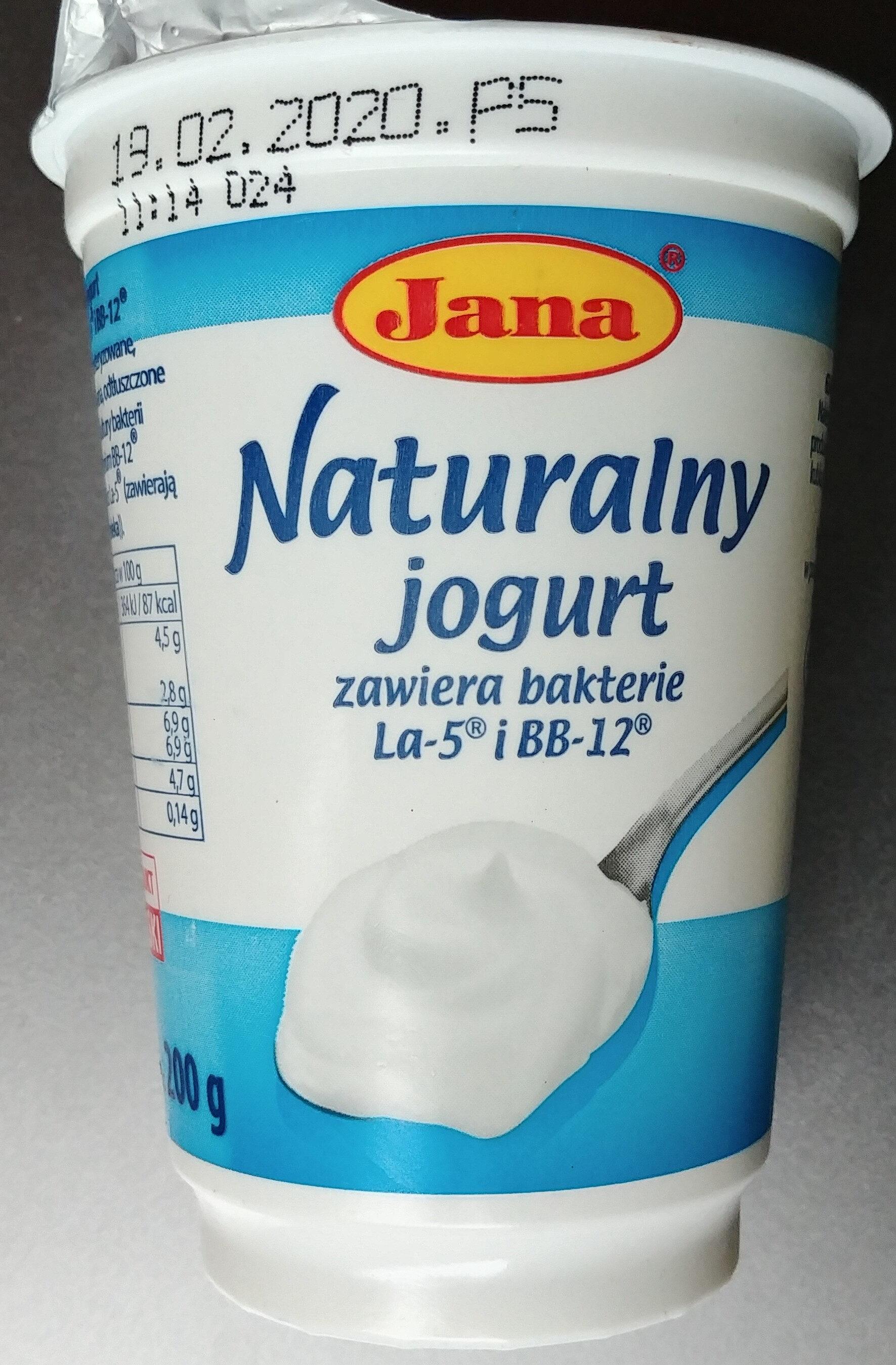 Jogurt naturalny - Product - pl