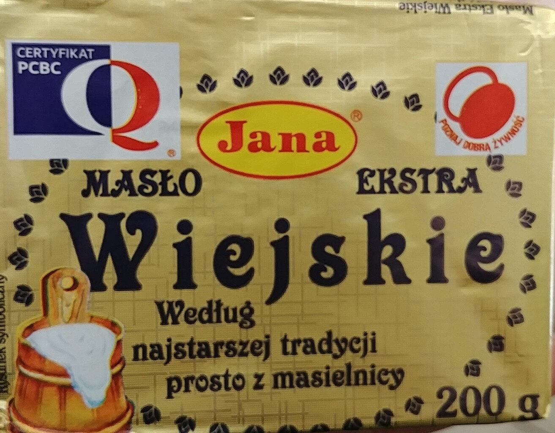Masło ekstra wiejskie - Produkt - pl