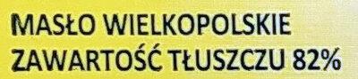 Baranek z masła wielkopolskiego - Ingredients - pl