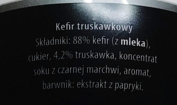 Kefir truskawkowy - Ingredients - pl