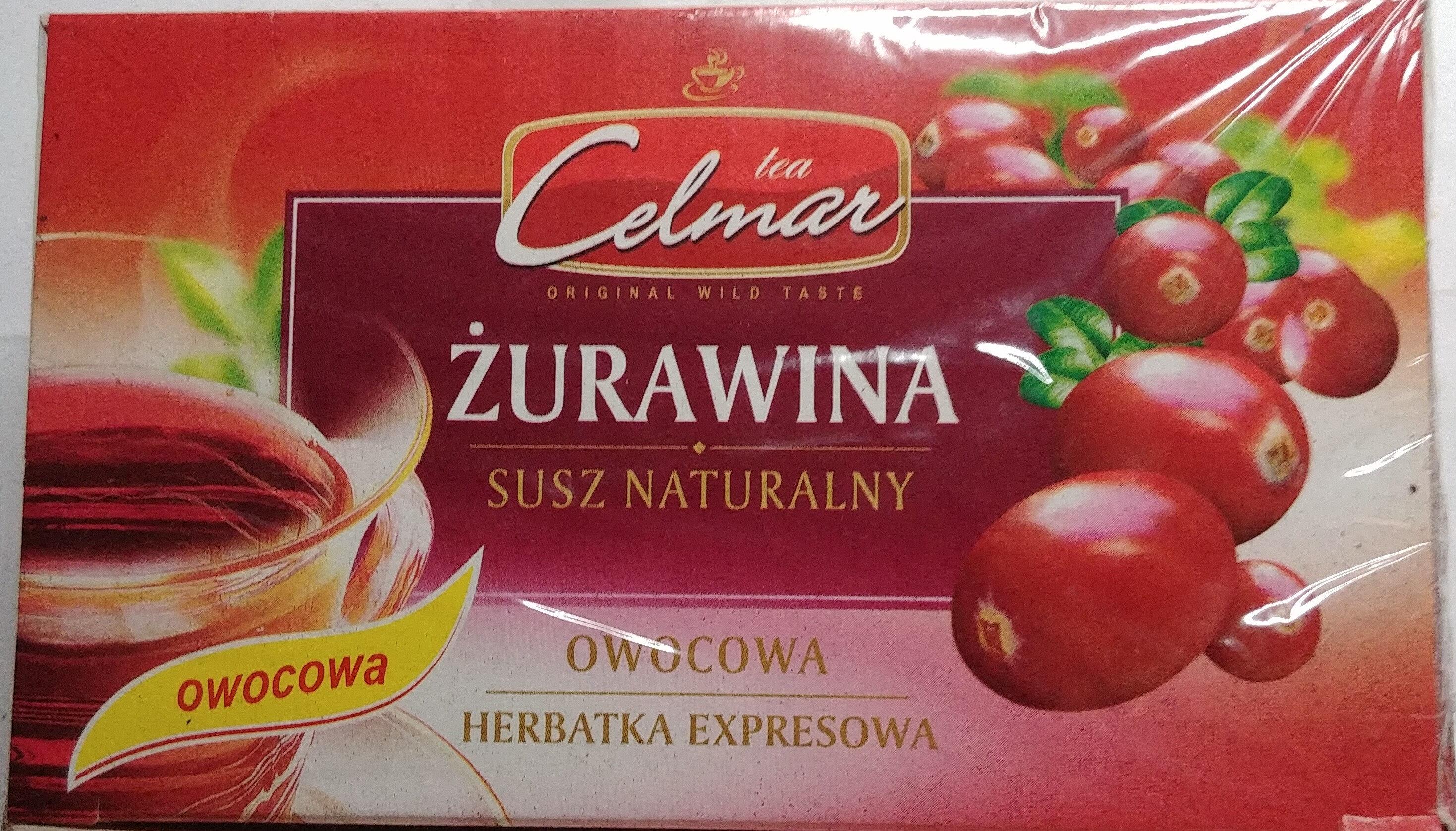 Herbatka ekspresowa Żurawinowa - Produkt - pl