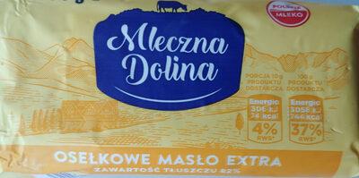 Masło osełkowe extra - Produkt - pl