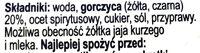 Śląska musztarda - Składniki - pl