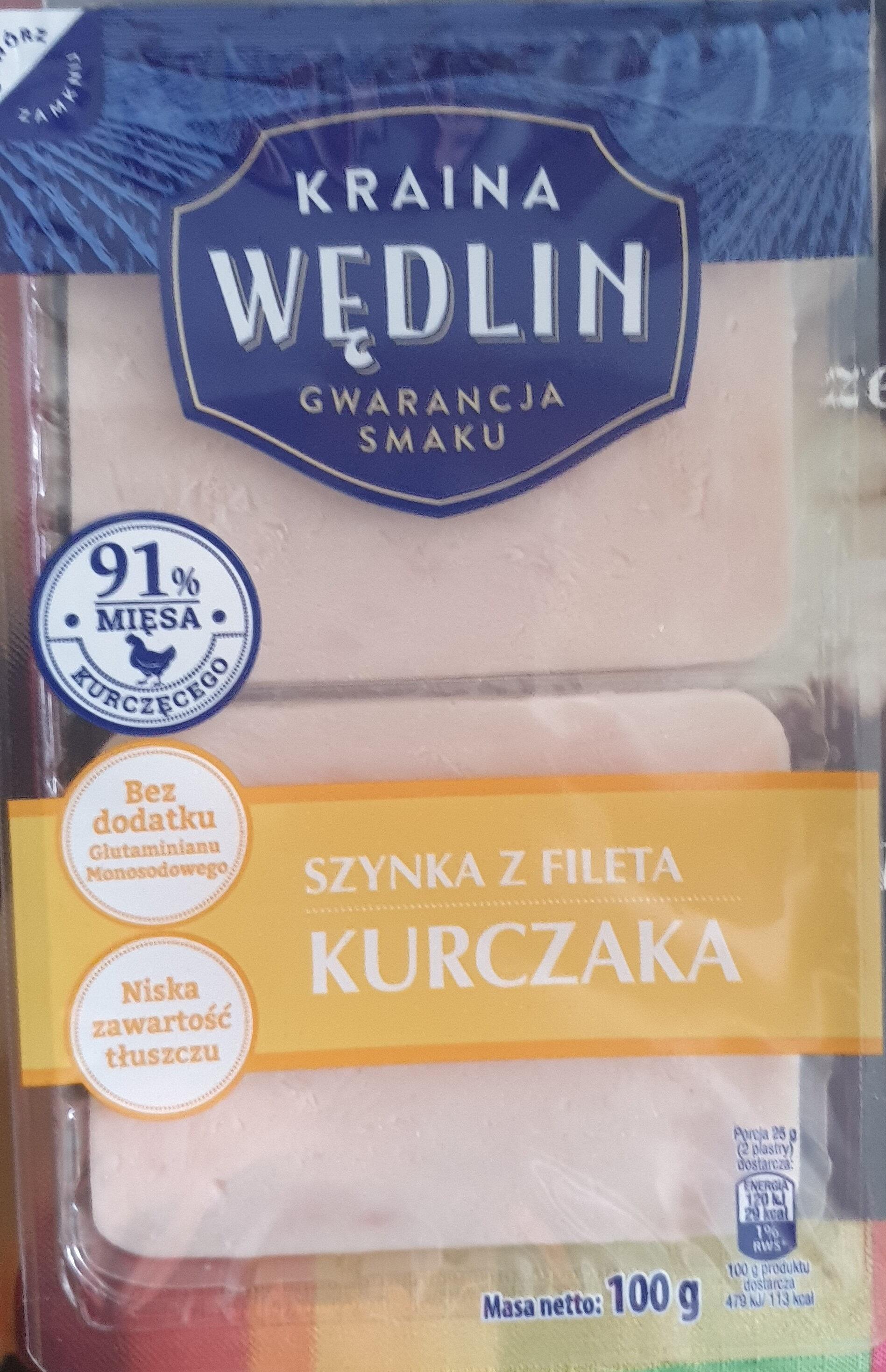 Szynka z fileta kurczaka - Produit - pl